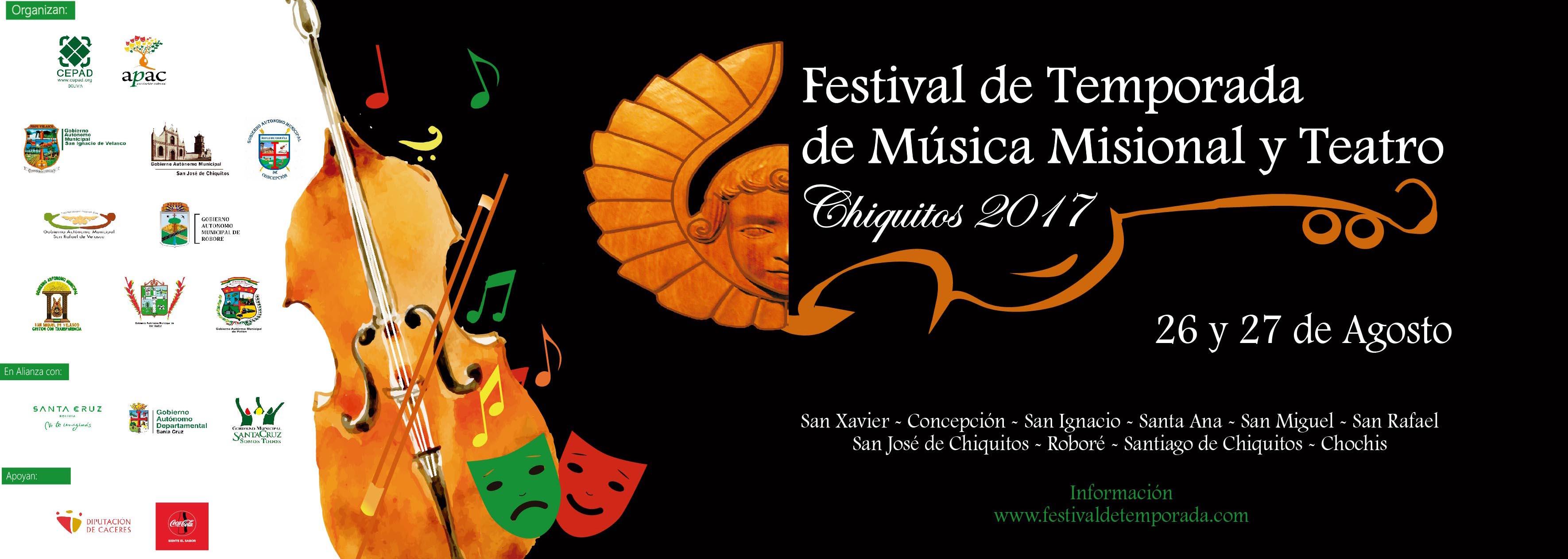 Festival de Temporada Chiquitos 2017